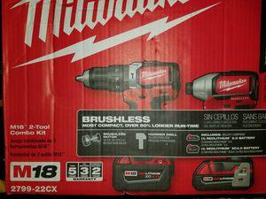 Milwaukee kit.. impact drill and hammer drill