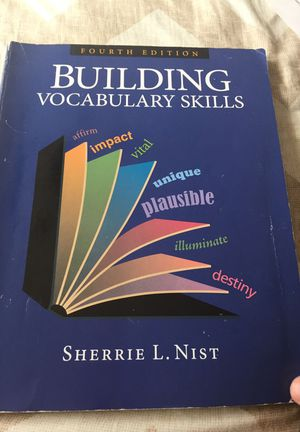 Building vocabulary skills 4th edition