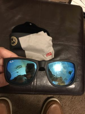 Ray ban Justin sunglasses and Oakley sunglasses