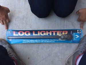 Log lighter for Chimney