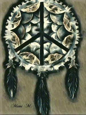 """Native Peace"" Art Print"