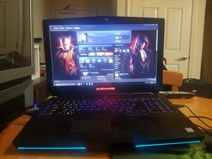 Alienware 17 r3 with warranty