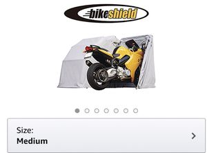 Motorcycle canopy bike shield