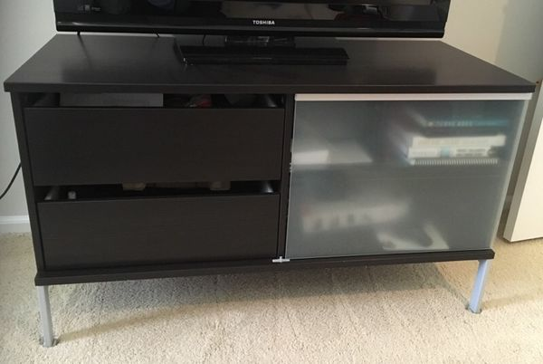 Brown Tv Table Drawers Storage Furniture In Everett