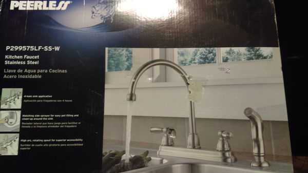 Peerless chrome kitchen faucet (Appliances) in Johnstown, OH - OfferUp
