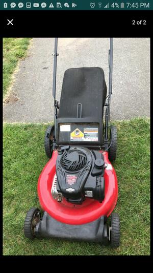 yard machines mower