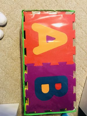 ABC foam playmat