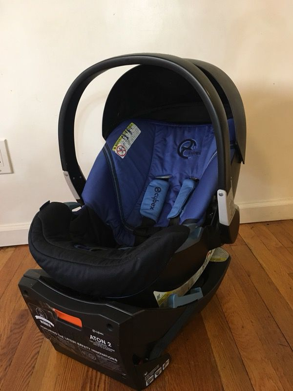 REDUCED PRICE!!! Cybex Baby Car Seat Aton 2 Bass Included, Slightly ...