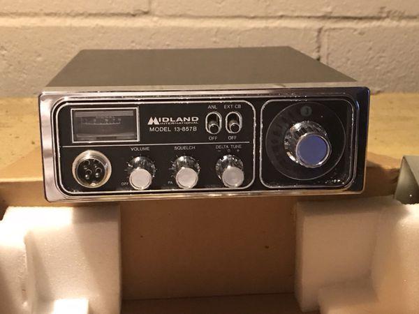 Vintage midland 13 857b 23 channel cb radio never used audio vintage midland 13 857b 23 channel cb radio never used sciox Gallery