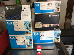 HP & Lexmark Toner cartridges