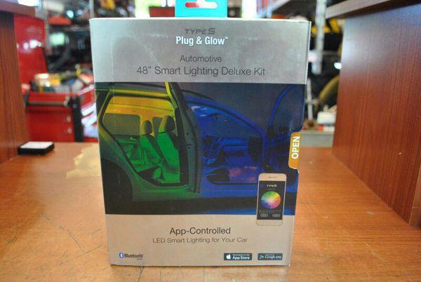 Lighting Deluxe type s and glow 48 smart lighting deluxe kit auto parts in
