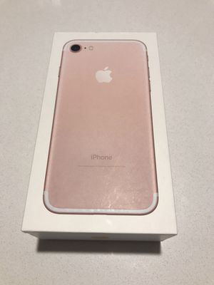 iPhone 7 Rose Gold 32GB (Unlocked SIM) Great Deal!