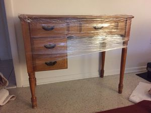 Antique Sewing Table w/ Chair