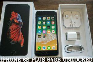 Iphone 6S Plus 64GB UNLOCKED (Like New) Space Gray