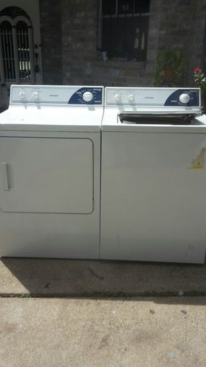 Hotpoint washer and dryer gas $ 280