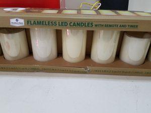Flameless led candles original new