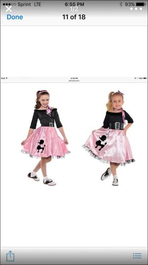 girl custume size medium 8-10
