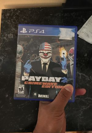 Pay day PS4