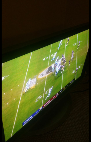 54 inch LG flat screen older model but great picture no problems with remote