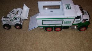 Hess Toy Truck and Front Loader