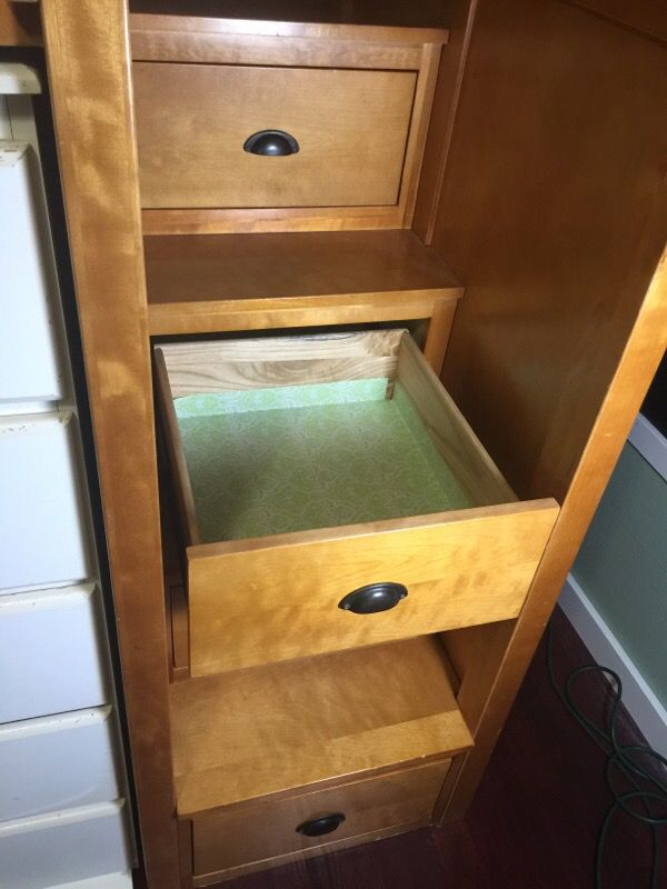 Twin loft bed with stairs furniture in edmonds wa offerup for Furniture edmonds wa