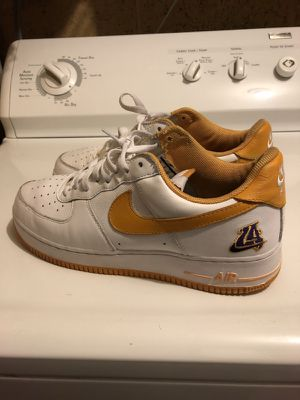 "Two Nike Air Force 1s ""NYC"" and ""LA2"" send offers price is negotiable"