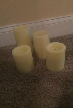 Flamless candles