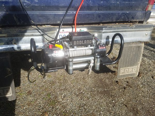 Badland 12000 winch and mount auto parts in tenino wa offerup badland 12000 winch and mount sciox Images