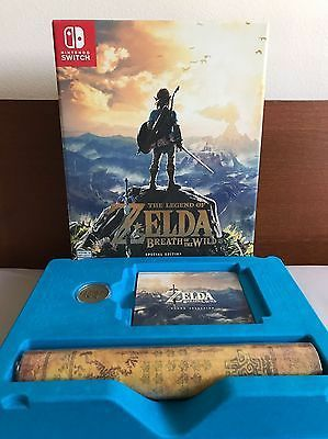 zelda collectibles breath of the wild special edition