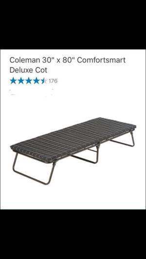 """Coleman 30x80"""" comfortsmart deluxe cot"""