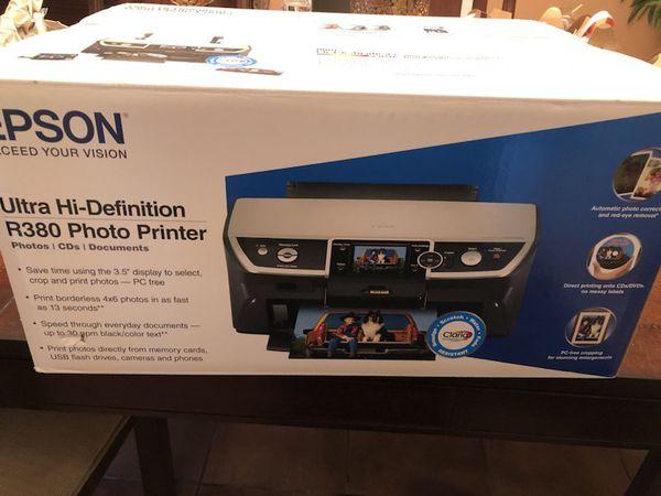 epson ultra high def r380 printer computer equipment in