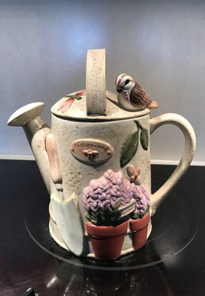 Pfaltzgraff Naturewood Cookie Jar