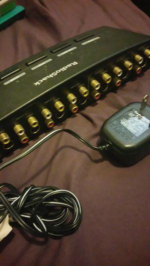 Audio Video Selector Radio Shack