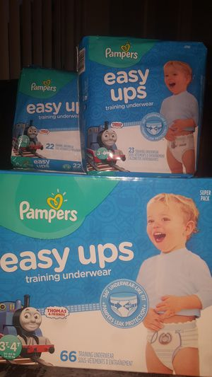 Pampers pull ups