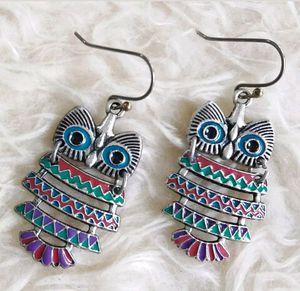 Owl Chandelier Earrings