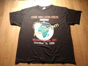 Vintage Million Man March T-shirt