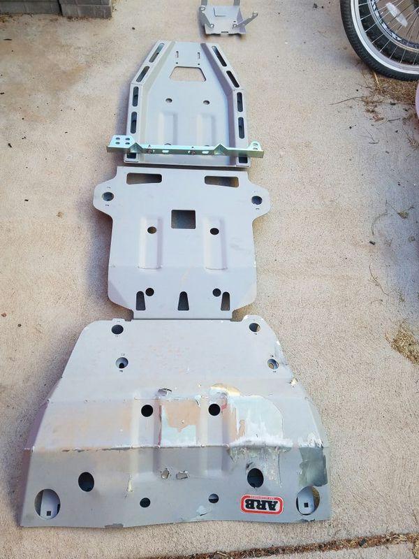 ARB Skid Plates for 120 Toyota platform 4th/ 5th gen ...