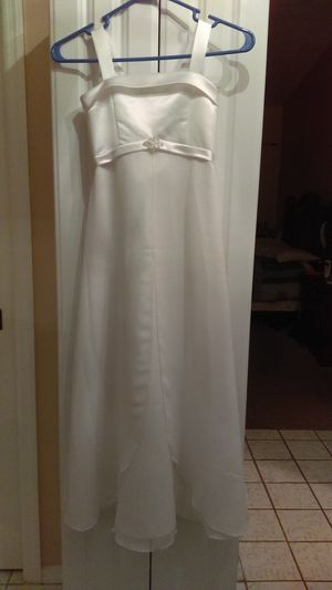 David's Bridal Girls size 7 dress