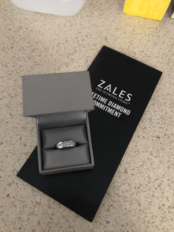 Zales mens engagement ring brand new Jewelry Accessories in