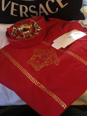 Versace Belt and Shirt set