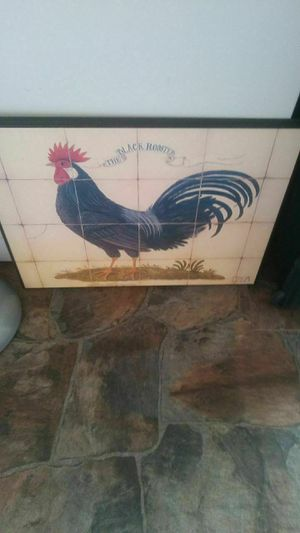 Old rooster picture