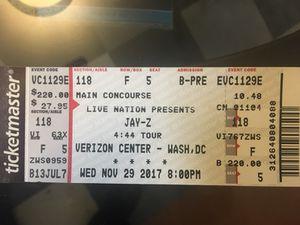 Jay Z 4:44 tickets 100 level (2)