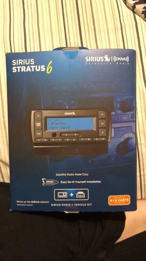 Sirius radio kit audio equipment in jefferson oh offerup solutioingenieria Gallery