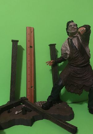 Horror Figure Texas Chainsaw Leatherface Todd McFarlane