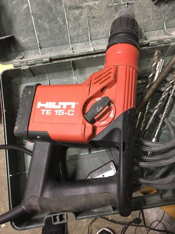 hilti te 15 c rotary hammer tools machinery in daly city ca. Black Bedroom Furniture Sets. Home Design Ideas