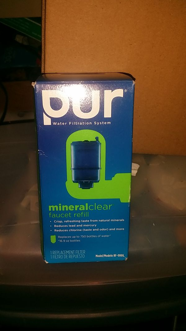 Pur water filtration system mineralclear faucet refill (General) in ...