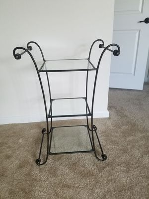 Pier 1 wrong iron side table