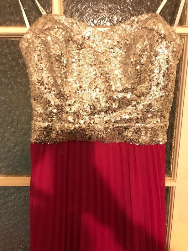 Silver And Fuchsia Prom Dress (Clothing & Shoes) in San Jose, CA ...