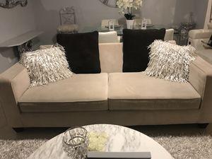 Beautiful Beige Luxury Couch