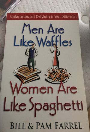Men are like waffles and women are like spaghetti book